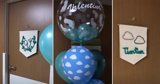 Mariana Bridi e Rafael Cardoso celebram chegada de Valentim (Foto: Reprodução/Instagram)