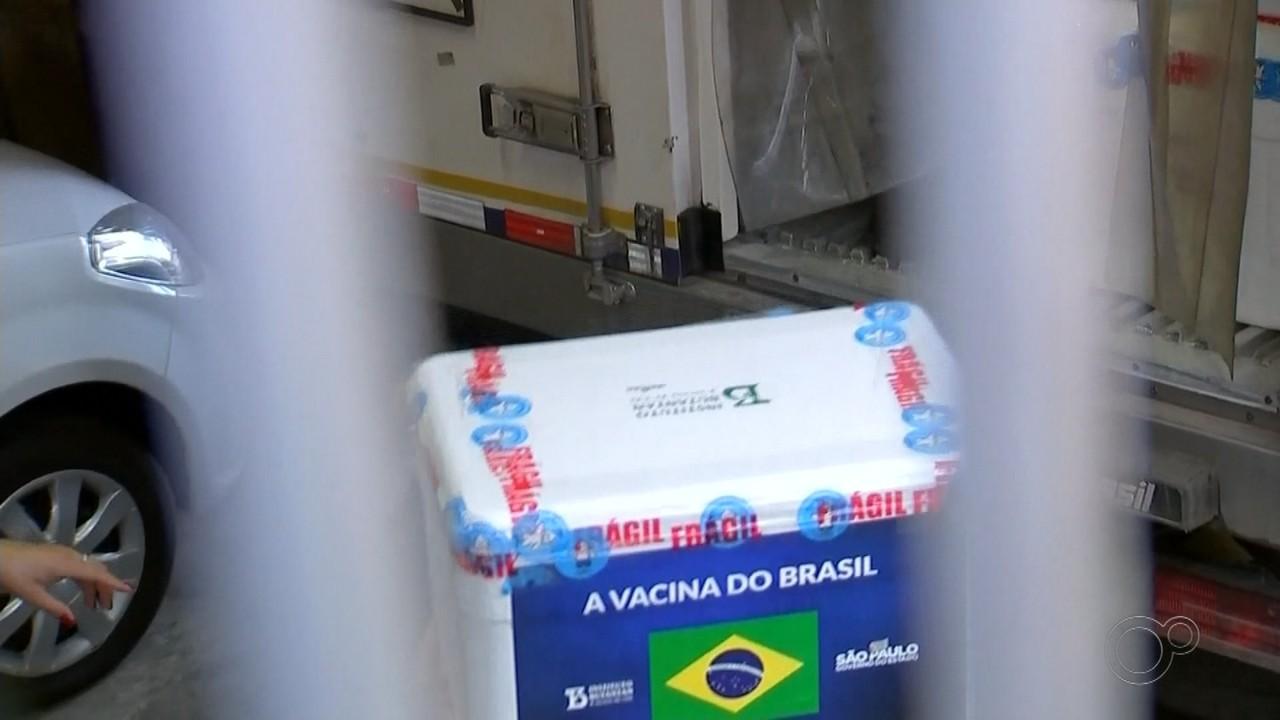 Rio Preto e Araçatuba recebem novas doses da vacina contra a Covid-19