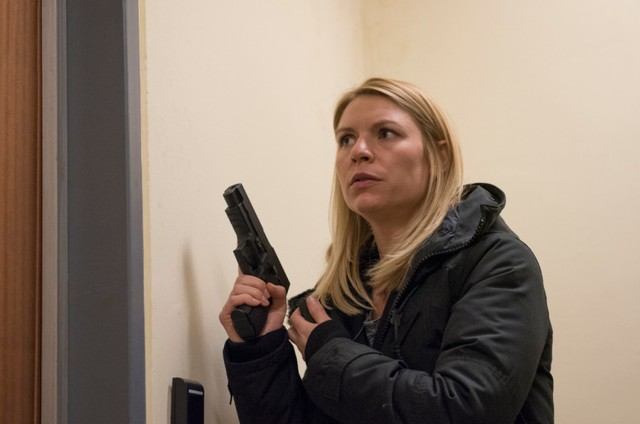 Claire Danes como Carrie Mathison em 'Homeland' (Foto: Kata Vermes/Showtime)