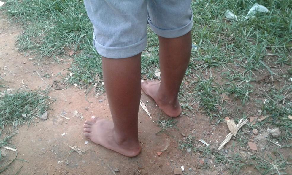 Criança era estuprada há cerca de um mês em Iperó (Foto: Arquivo pessoal)