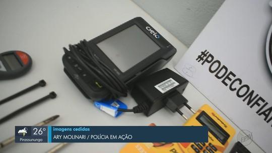 PM prende trio suspeito de instalar 'chupa-cabras' em caixas eletrônicos de bancos de 2 cidades