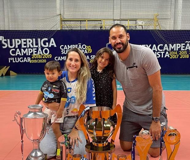 Família de Maurício Borges (Foto: Instagram/Reprodução)