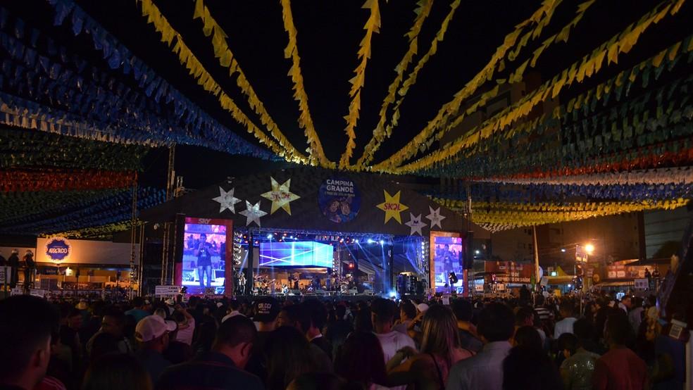 São João 2018 de Campina Grande foi adiado e começa dia 8 de junho (Foto:  Kamylla Lima/G1/Arquivo)
