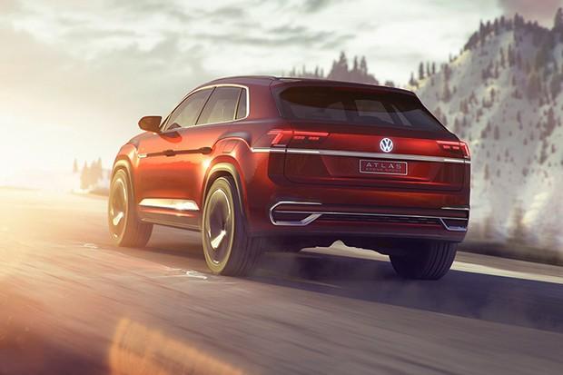 Volkswagen Atlas Cross Sport (Foto: Divulgação)