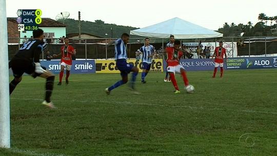 Zebra em Capela, volante goleador, Jaciobá na ponta: a 1ª rodada do Alagoano