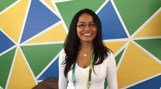 Lauana Costa, da Emcof, empresá júnior de Manaus (Foto: Editora Globo)