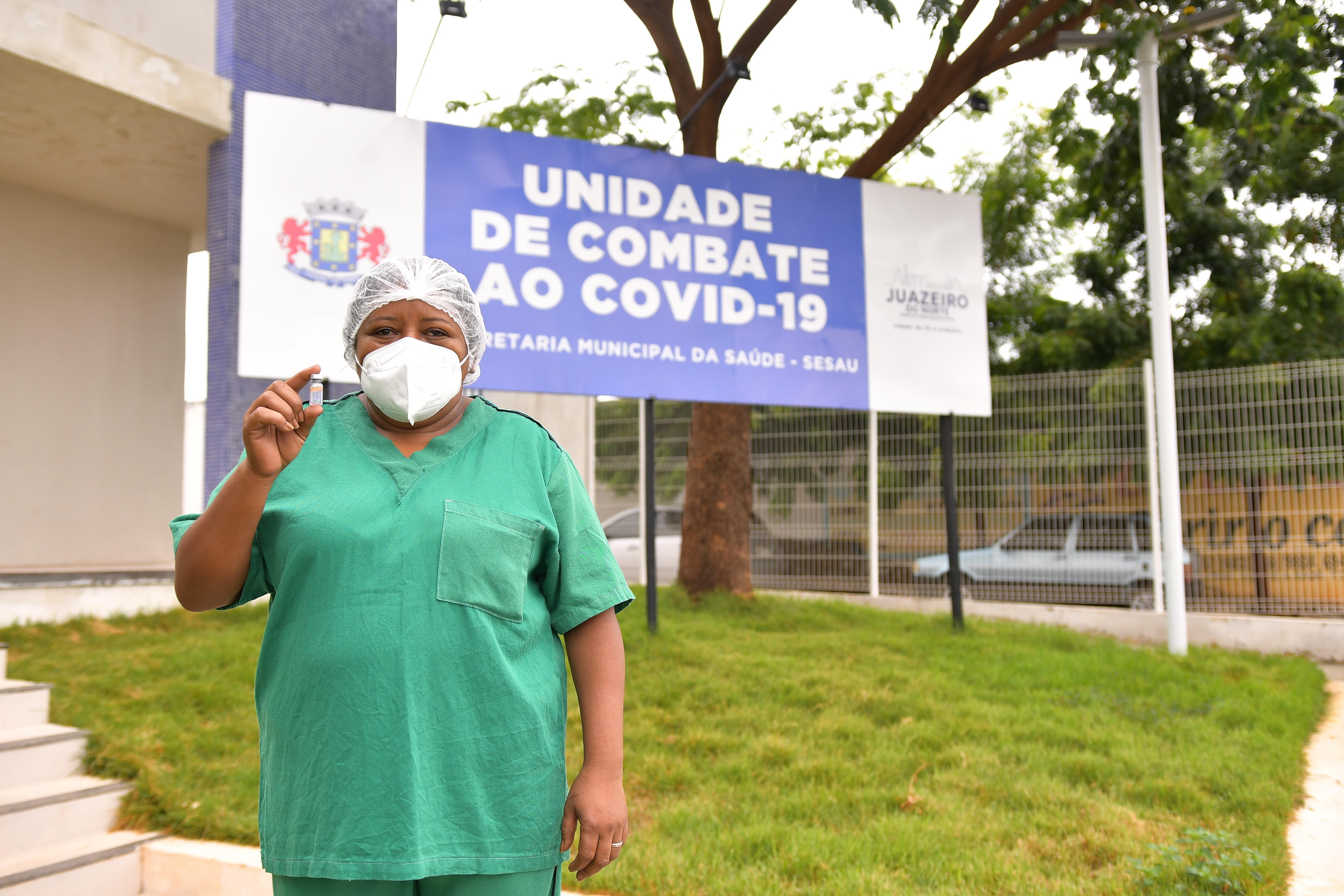 Unidade de combate à Covid-19 em Juazeiro do Norte zera número de pacientes internados pela segunda vez no ano, no Ceará