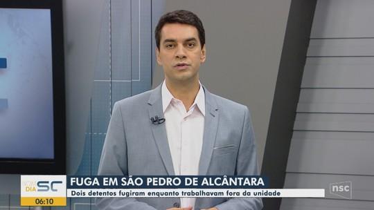 Dois presos fogem do Complexo Penitenciário de São Pedro de Alcântara