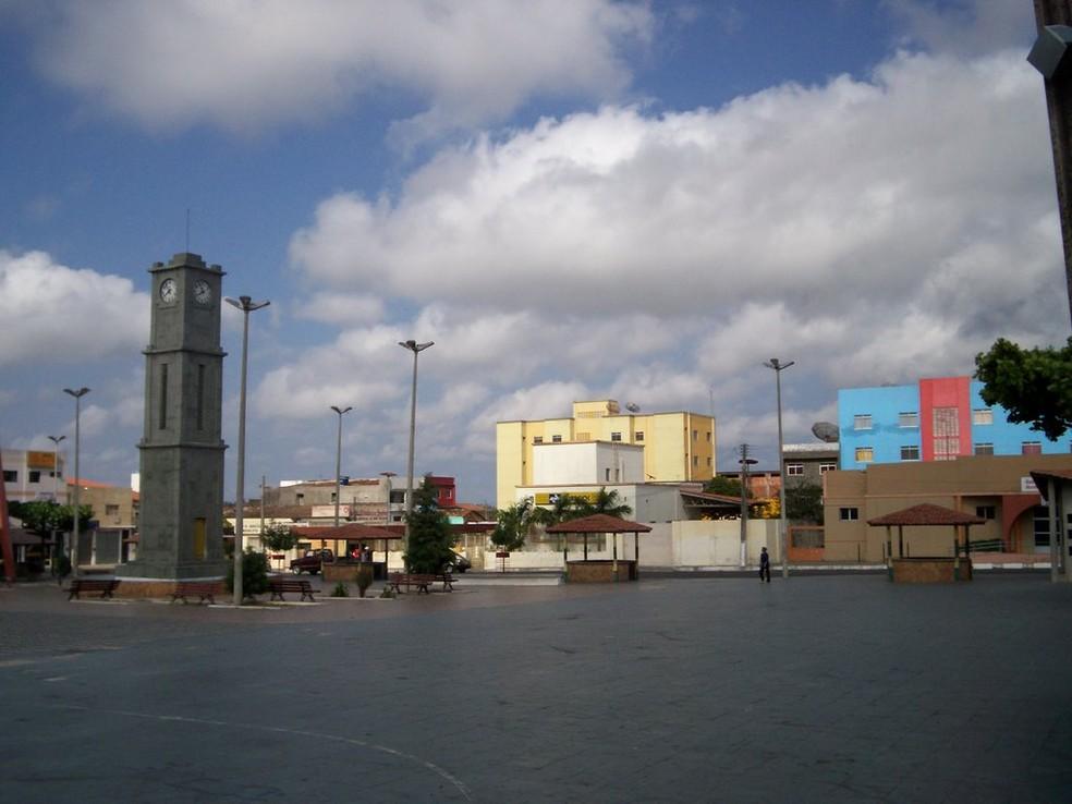 Cidade de São Benedito, na Ibiapaba — Foto: Arquivo pessoal