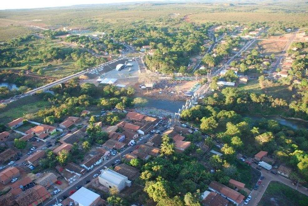 Homem foi preso em Ponte Alta do Tocantins — Foto: Divulgação