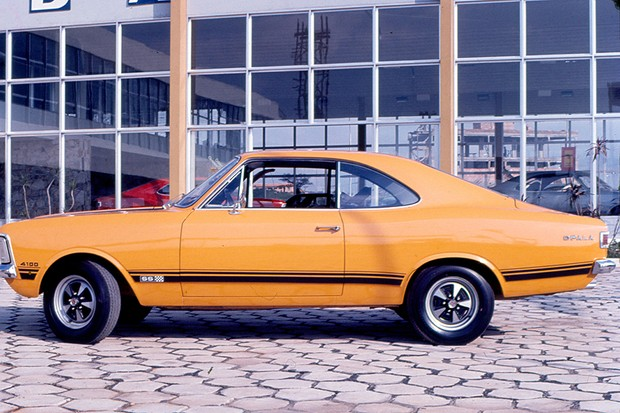 Opala SS 1973 (Foto: Acervo Autoesporte)