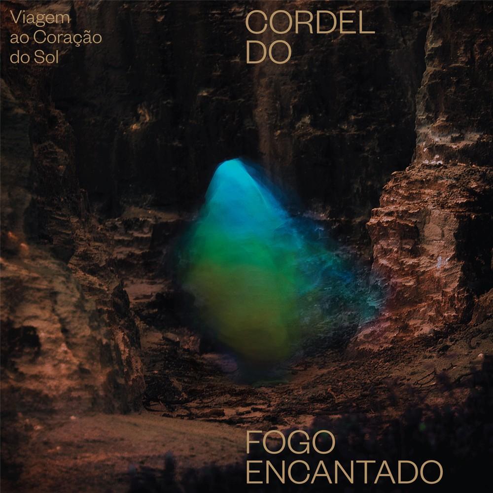 Capa do álbum 'Viagem ao coração do sol', do Cordel do Fogo Encantado (Foto: Arte de Lucas Basic e Lucas Falcão)