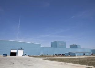 Unidade da CSN nos Estados Unidos, localizada em Terre Haute, em Indiana (Foto: Divulgação)