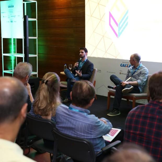 Thiago Rotta, diretor de inovação e transformação digital da Microsoft, em palestra no FICE 2018 (Foto: Alexandre dipaula)