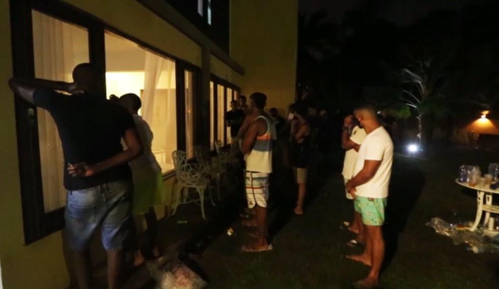 'Pandemia Fest' foi encerrada na noite de terça-feira — Foto: Reprodução/TV Bahia