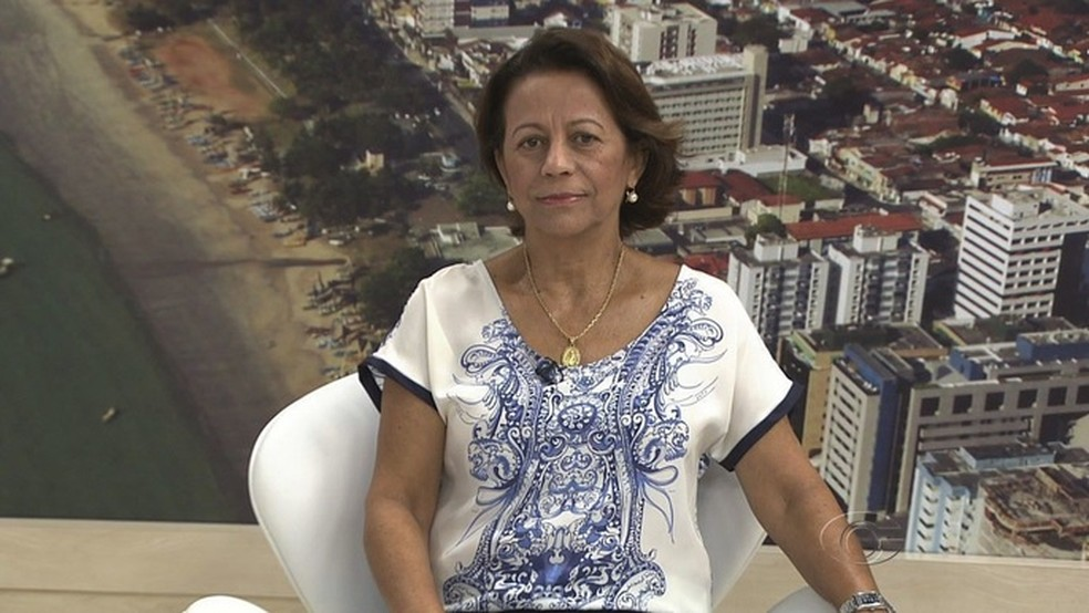 Juíza Maria Lúcia Pirauá assinou portaria sobre limite de idade no Rei Pelé (Foto: Reprodução TV Gazeta)
