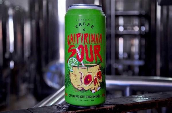 Capirinha Sour é a nova receita da Cervejaria Treze