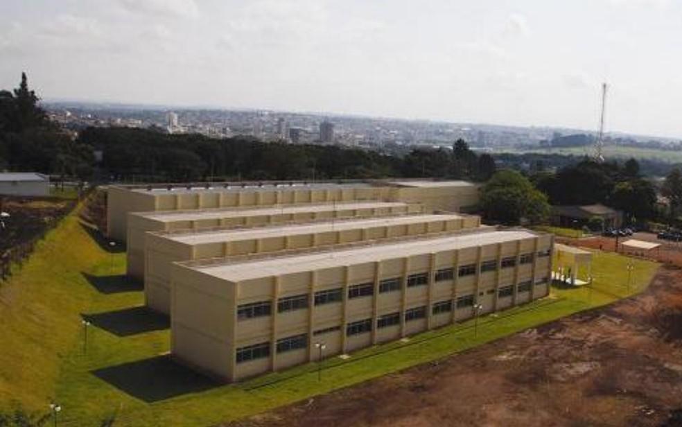 Campus IFG em Itumbiara, Goiás — Foto: Reprodução/IFG