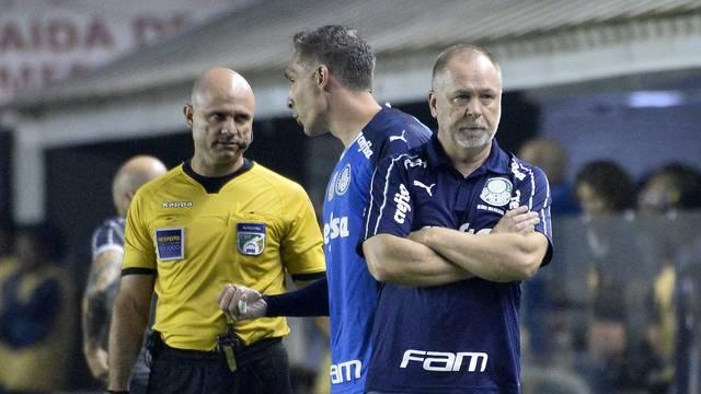 Mano Menezes sofreu primeira derrota no Palmeiras