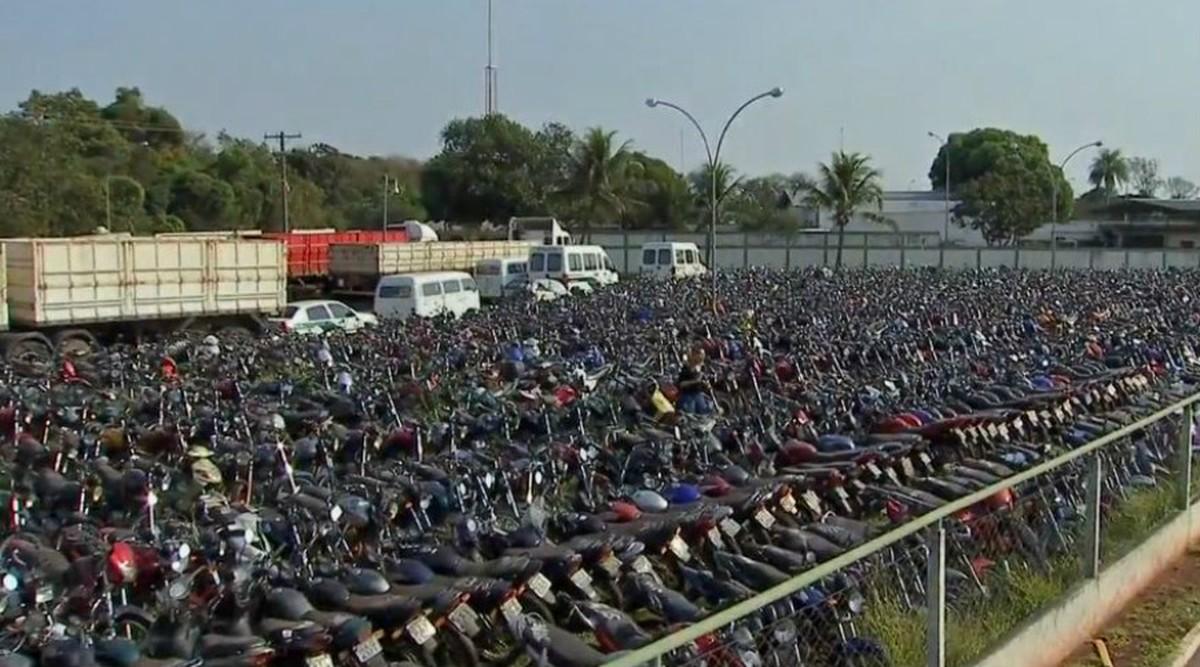 Detran-MS notifica proprietários que 2,1 mil veículos apreendidos podem ir a leilão