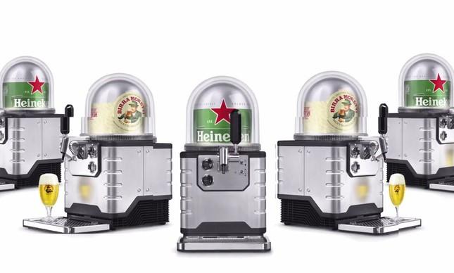 Heineken lança máquina de chope no estilo 'café expresso'