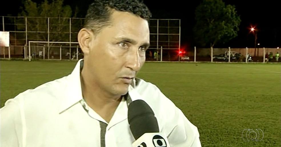 Fernando Brasília, técnico do Sparta (Foto: Reprodução/TV Anhanguera)