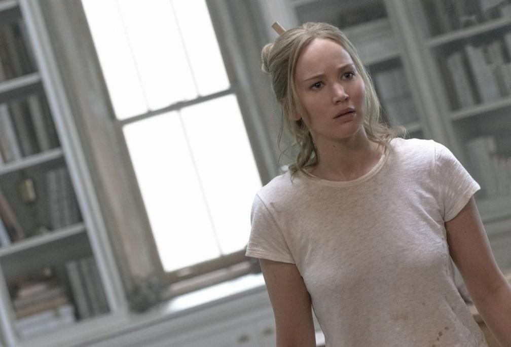 Jennifer Lawrence em 'Mãe!' (Foto: Divulgação)