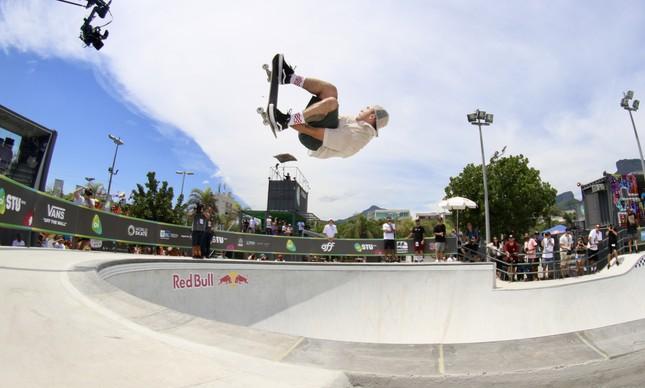Pedro Barros no Oi STU Open
