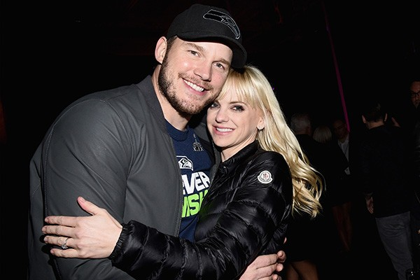 Chris Pratt e Anna Faris (Foto: Getty Images)