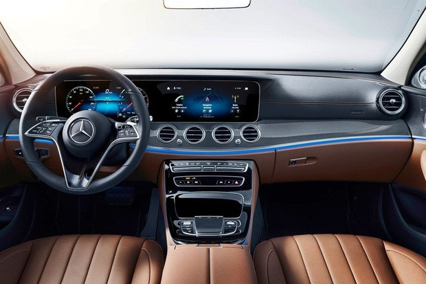 Mercedes-Benz Classe E reestilizado (Foto: Divulgação)