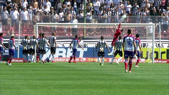 Assista aos melhores momentos de Atlético-MG 0 x 1 Bahia pela 16ªrodada