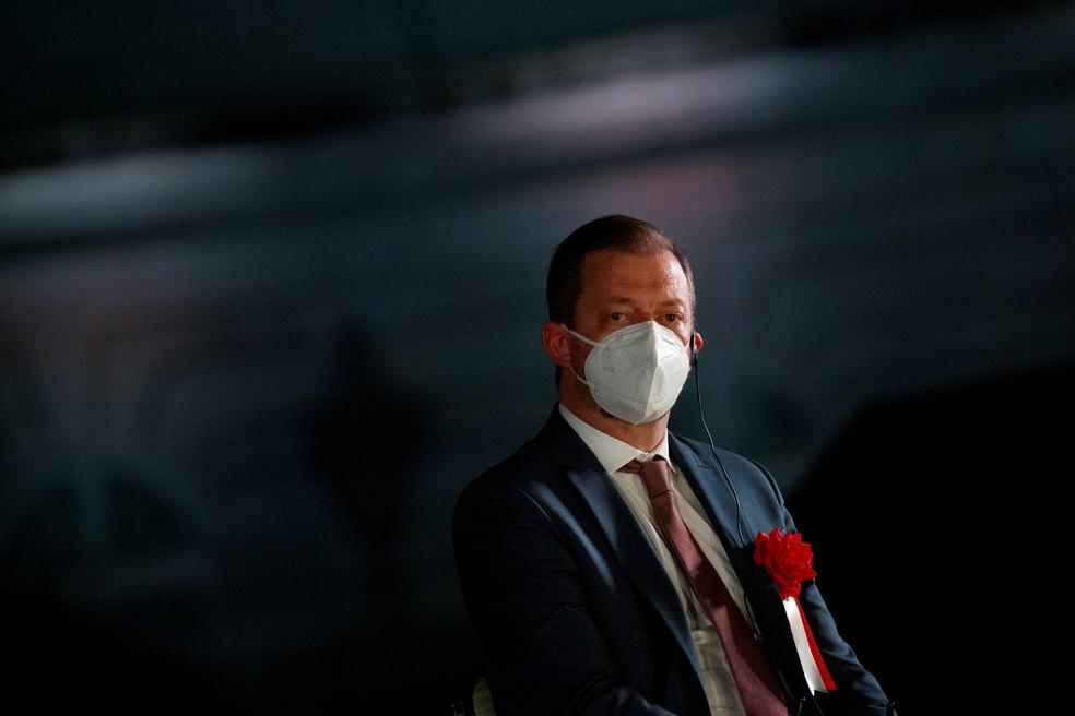 Andrew Parsons em Tóquio — Foto: REUTERS/Thomas Peter