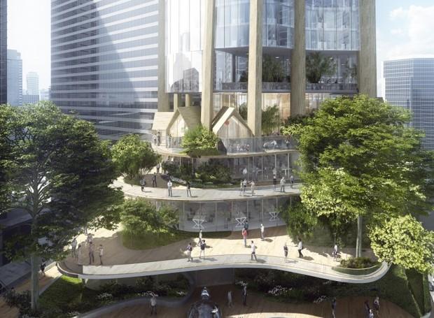 Edifício MAD Architects (Foto: Reprodução/ MAD Architects)