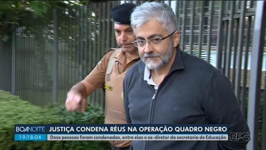 Justiça do Paraná condena 12 pessoas em primeira sentença da Operação Quadro Negro