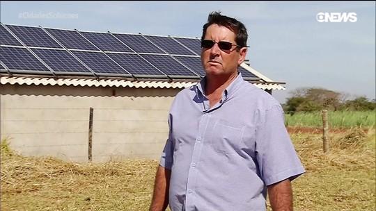 Conheça o agricultor que investiu em energia solar e nunca mais pagou conta de luz