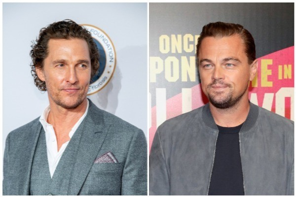 Matthew McConaughey e Leonardo DiCaprio (Foto: Getty Images)