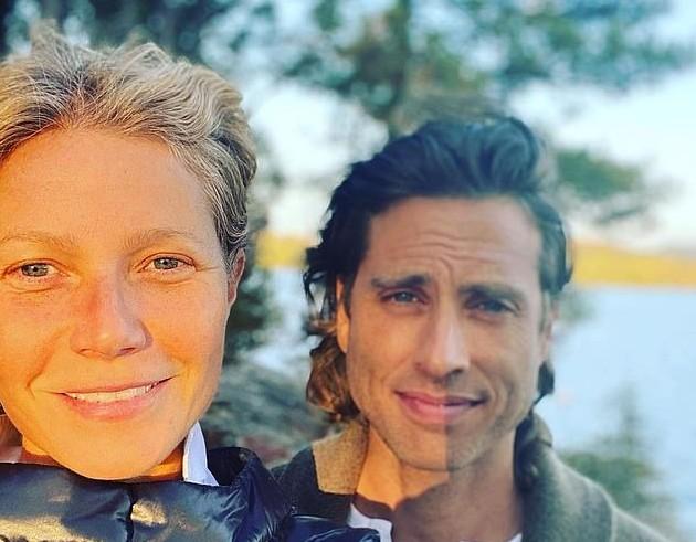 Gwyneth Paltrow e o marido, o produtor Brad Falchuk (Foto: Instagram)
