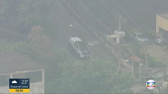 Polícia faz operação no Complexo do Chapadão, na Zona Norte do Rio