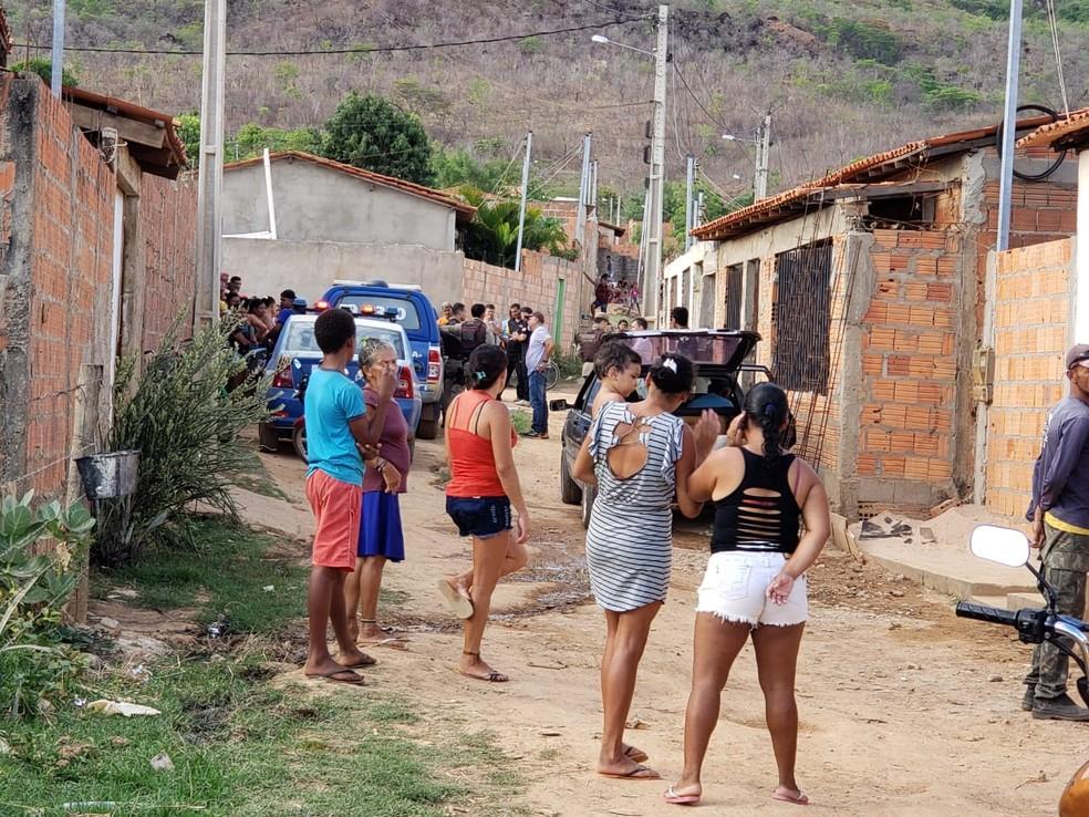 Adolescente tinha 15 anos e suspeito tem 13 — Foto: Ivonaldo Paiva/Blog do Braga