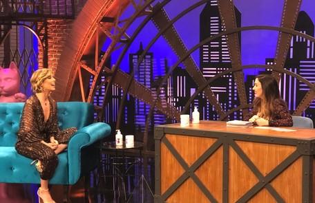 Além da entrevista, Ana Furtado dará uma receita com 'detalhes escatológicos' no palco e fará uma dança coreografada por Tatá Divulgação