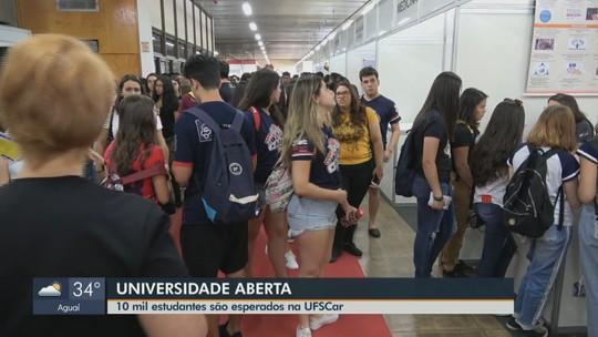 'Universidade Aberta' na UFSCar em São Carlos orienta jovens sobre cursos
