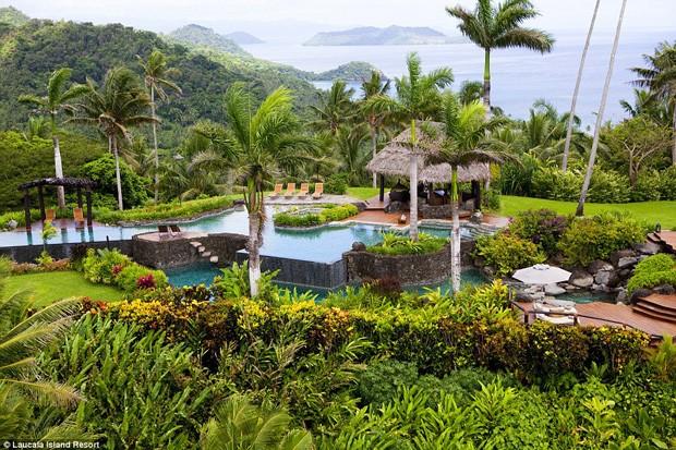 Hotel Laucala Resort, em Fiji (Foto: Reprodução)