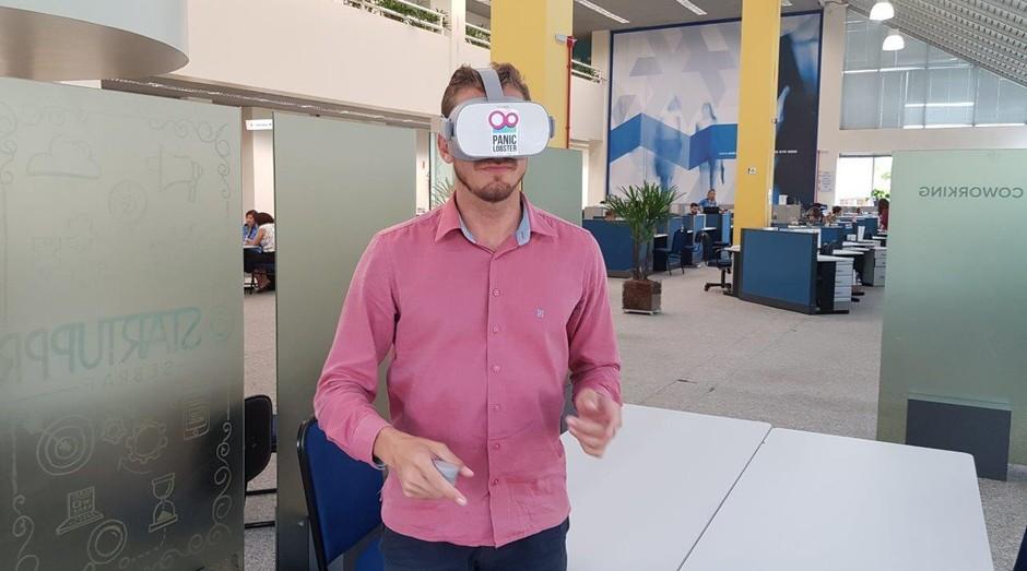 VR ajuda a preparar empreendedores para apresentar ideias e negócios inovadores (Foto: Divulgação)