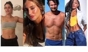 Luisa Arraes ganhou músculos para o filme 'Grande Sertão'; Bruna Griphao perdeu para 'Nos tempos do Imperador', Marcelo Serrado emagreceu 6kg para 'Cara e coragem' e Erika Januza ficou mais magra para 'Verdades secretas' 2 | Reprodução/Instagram
