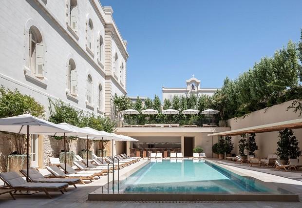 Antigo hospital e monastério em Tel Aviv é transformado em hotel (Foto: Reprodução/Amit Geron)
