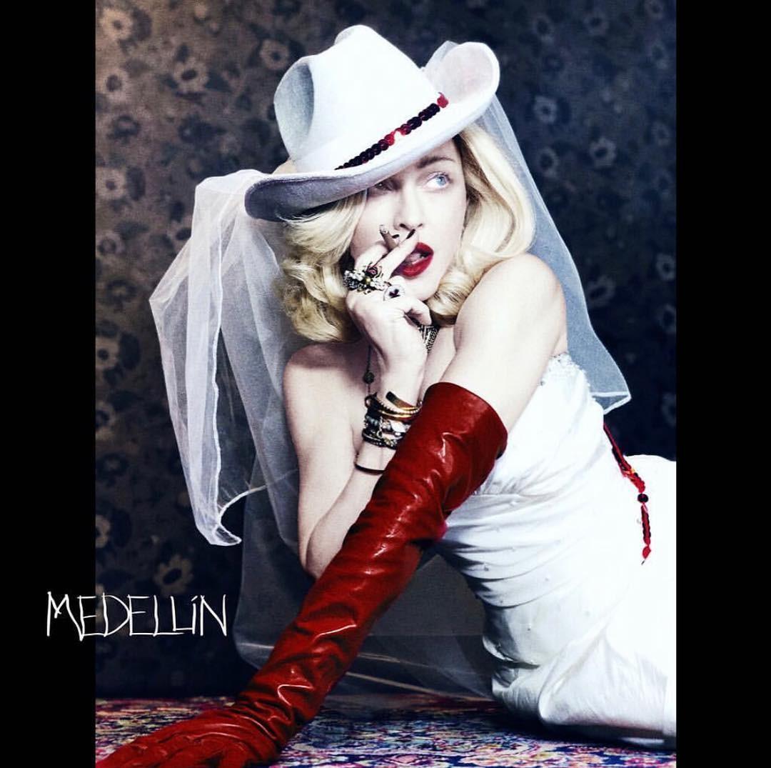 Madonna lança 'Medellín' com Maluma; OUÇA
