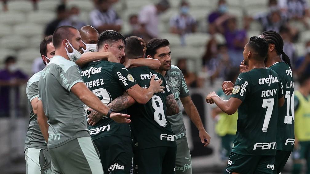 """[ANÁLISE] Palmeiras dá sequência à sua """"melhor versão"""" e apresenta pontos positivos"""