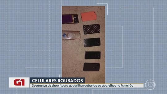 G1 no BDMG: Quadrilha especializada em furto de celular é presa em show de Gusttavo Lima
