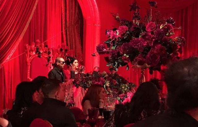 O casamento de Kat Von D e Leafer Sayer. (Foto: Instagram Bam Margera/ Reprodução)