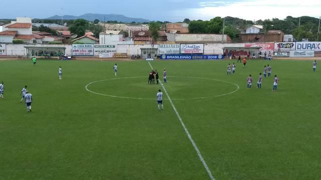 e033bc64a Interporto 1 x 2 Itabaiana - Campeonato Brasileiro Série D 2019 ...